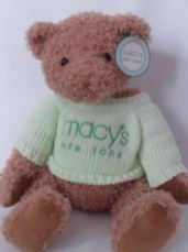 Rare Big Gund My 1st 'Macy's' New York Teddy Bear BNWT
